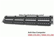 Patch panel 48 Port, CAT.5e Dintek cao cấp